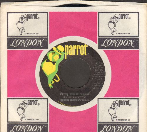 Springwell - It's For You/Our Question (with company sleeve) - NM9/ - 45 rpm Records