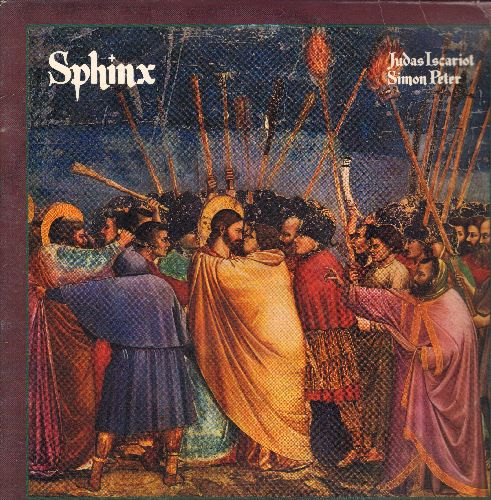 Sphinx - Judas Iscariot/Simon Peter - 12 inch vinyl STEREO LP record featuring 2 Extended Disco Tracks - NM9/VG7 - LP Records