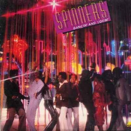 Spinners - Dancin' And Lovin': Body Language (FANTASTIC 6:25 minute Extended Disco version!), Disco Ride, Let's Boogie Let's Dance, Motown-Medley (vinyl LP record) - EX8/VG7 - LP Records