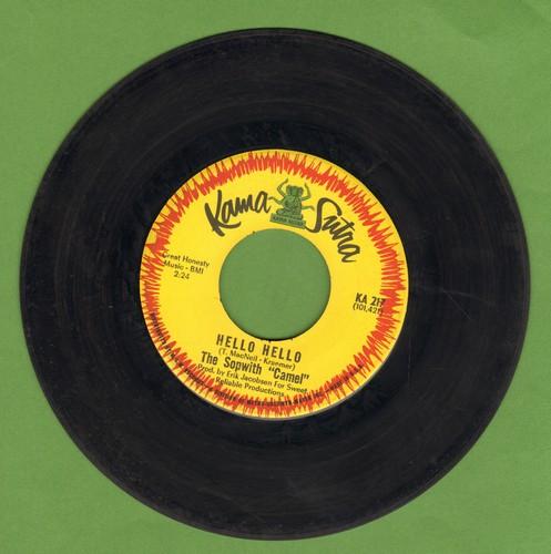 Sopwith Camel - Hello Hello/Treadin' - VG7/ - 45 rpm Records