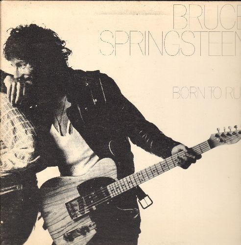 Springsteen, Bruce - Born To Run: Thunder Road, Backstreets, Tenth Avenue Freeze-Out (vinyl STEREO LP record, gate-fold cover) - NM9/VG7 - LP Records