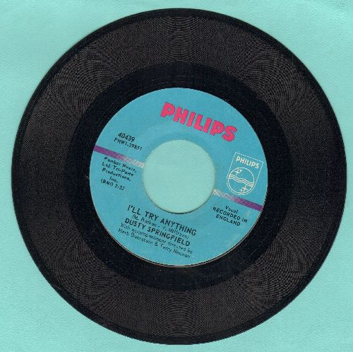 Springfield, Dusty - I'll Try Anything/The Corrupt Ones (MINT condition!) - M10/ - 45 rpm Records
