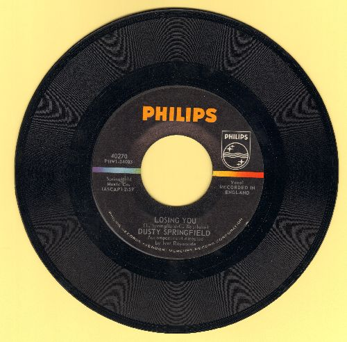 Springfield, Dusty - Losing You/Here She Comes  - NM9/ - 45 rpm Records
