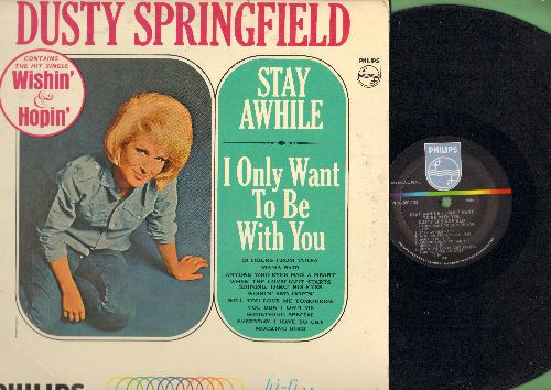Springfield, Dusty - Stay Awhile: I Only Want To Be With You, Wishin' & Hopin', 24 Hours To Tulsa, Mama Said, You Don't Own Me (vinyl MONO LP record) - EX8/EX8 - LP Records