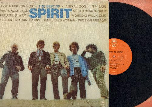 Spirit - The Best Of Spirit: 1984, Animal Zoo, Uncle Jack, Dark Eyed Woman, Mr. Skin, Fresh Garbage (vinyl STEREO LP record) - EX8/VG7 - LP Records