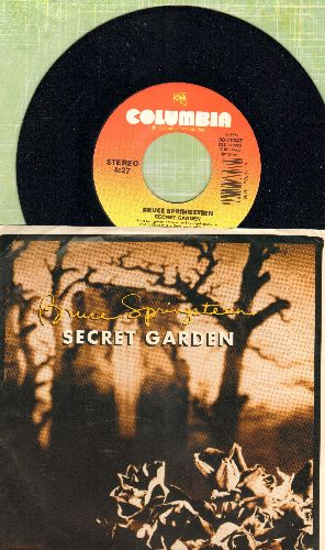 Springsteen, Bruce - Secret Garden/Thunder Road (LIVE) (with picture sleeve) - NM9/EX8 - 45 rpm Records