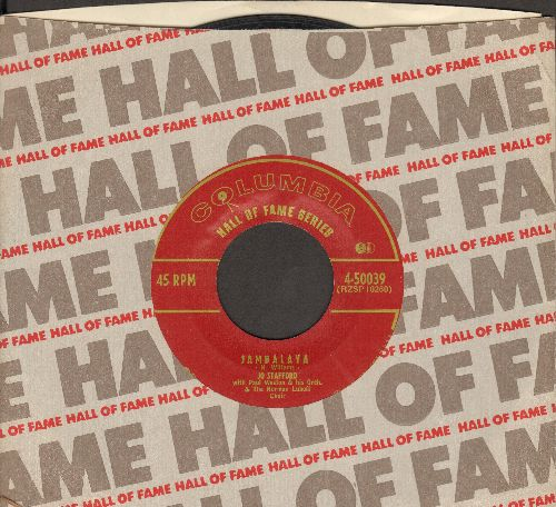 Stafford, Jo - Jambalaya/Make Love To Me! (early Hall of Fame Series re-issue) - EX8/ - 45 rpm Records