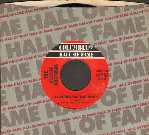 Statler Brothers - Flowers On The Wall/Ruyhless (double-hit re-issue with Columbia company sleeve) - NM9/ - 45 rpm Records