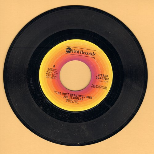 Stampley, Joe - The Most Beautiful Girl/The Night Time And My Baby - NM9/ - 45 rpm Records
