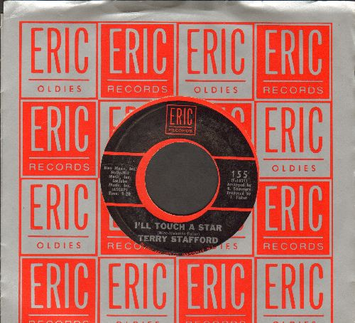 Stafford, Terry - Suspicion/I'll Touch A Star (double-hit re-issue by Elvis Presley Sound-Alike! - With Eric company sleeve)  - M10/ - 45 rpm Records