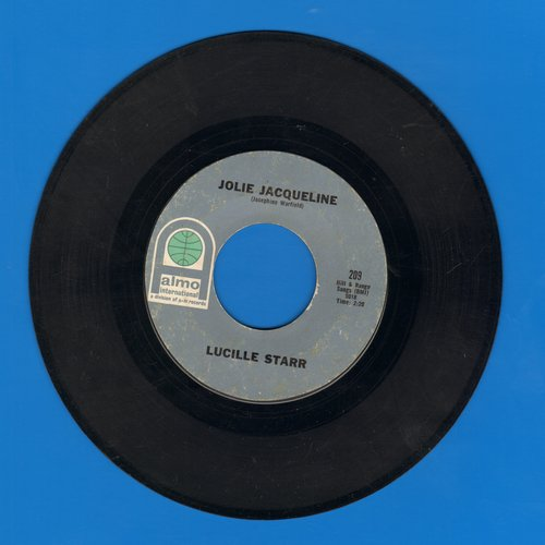 Starr, Lucille - Jolie Jaqueline/Yours - NM9/ - 45 rpm Records