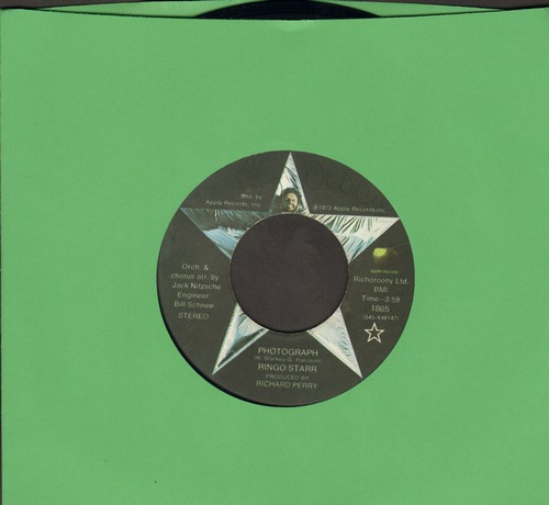 Starr, Ringo - Photograph/Down And Out  - VG7/ - 45 rpm Records