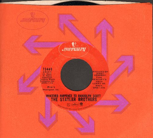 Statler Brothers - Whatever Happened To Randolph Scott/The Strand (with Mercury company sleeve) - NM9/ - 45 rpm Records