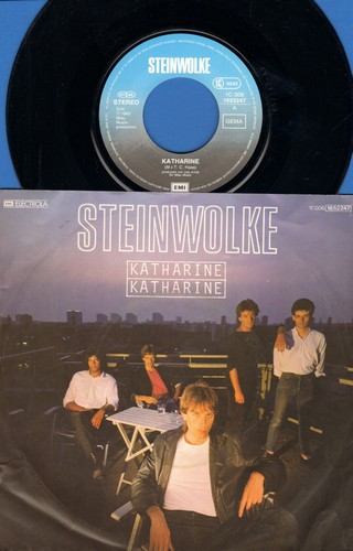 Steinwolke - Hkatharine/Wenn du dich allein fuehlst (German Pressing, sung in German, with picture sleeve) - M10/EX8 - 45 rpm Records