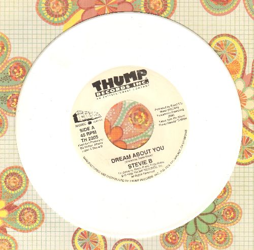 Stevie B - Dream About You/Funky Melody (white vinyl pressing) - NM9/ - 45 rpm Records