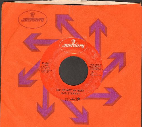Stewart, Rod - Oh! No Not My Baby/Jodie (with Mercury company sleeve) - NM9/ - 45 rpm Records