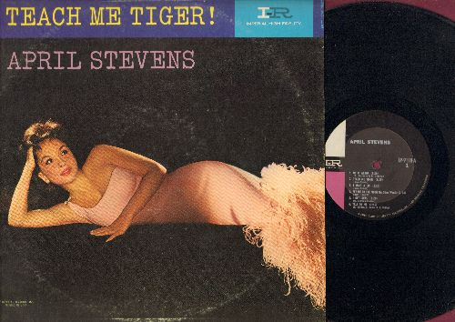 Stevens, April - Teach Me Tiger: Do It Again, Talk To Me, When My Baby Smiles At Me 9vinyl MONO LP record) - NM9/EX8 - 45 rpm Records