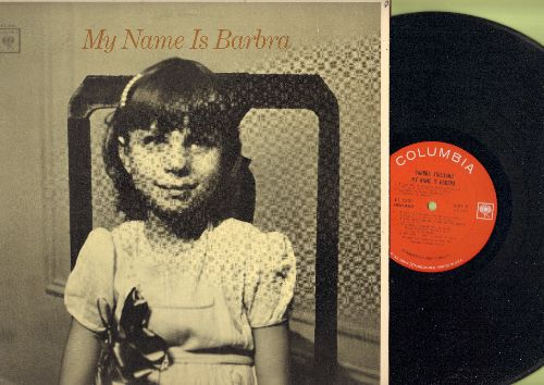 Streisand, Barbra - My Name Is Barbra: My Man, Someone To Watch Over Me, I've Got No Strings, My Pa (vinyl MONO LP record) - NM9/EX8 - LP Records
