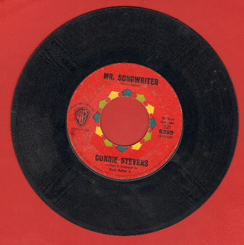 Stevens, Connie - Mr. Songwriter (Write Me A Song)/I Couldn't Say No  - VG7/ - 45 rpm Records