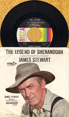 Stewart, James - The Legend Of Shenandoah/We're Ridin' Out Tonight (by Charles