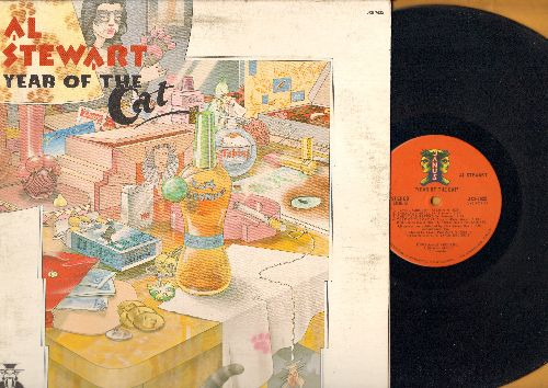 Stewart, Al - Year Of The Cat: Lord Grenville, Midas Shadow, If It Doesn't Come Naturally - Leave It (vinyl STEREO LP record, gate-fold cover) - EX8/EX8 - LP Records