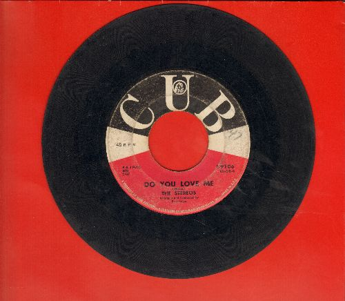 Stereos - Do You Love Me/Unless You Mean It (sol) - VG6/ - 45 rpm Records