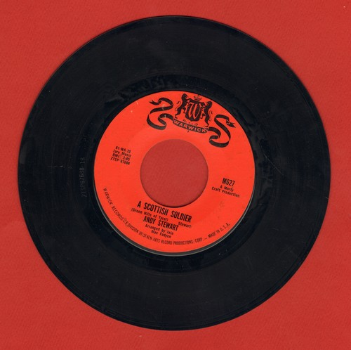 Stewart, Andy - A Scottish Soldier/The Muckin 'O' Georgie's Byre - EX8/ - 45 rpm Records