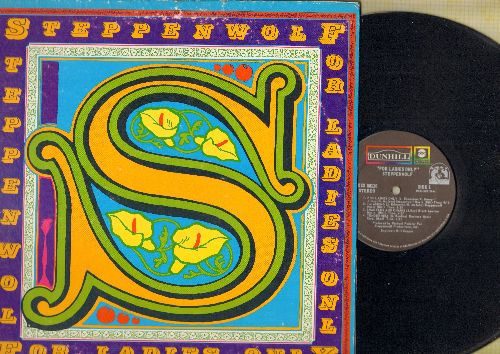 Steppenwolf - For Ladies Only: Shackles And Chains, Black Pit, Ride With Me, Sparkle Eyes  (vinyl STEREO LP record, gate-fold cover) - VG7/VG7 - LP Records