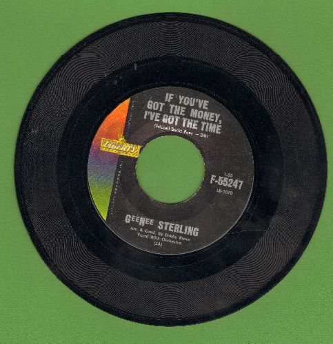 Sterling, Gee Nee - If You've Got The Money, I've Got The Time/Mama, Don't Tell Me  - EX8/ - 45 rpm Records