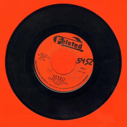 Stevens, Terri - Adois/Vieni, Vieni (Vintage Girl-Sound!) (minor wol) - NM9/ - 45 rpm Records