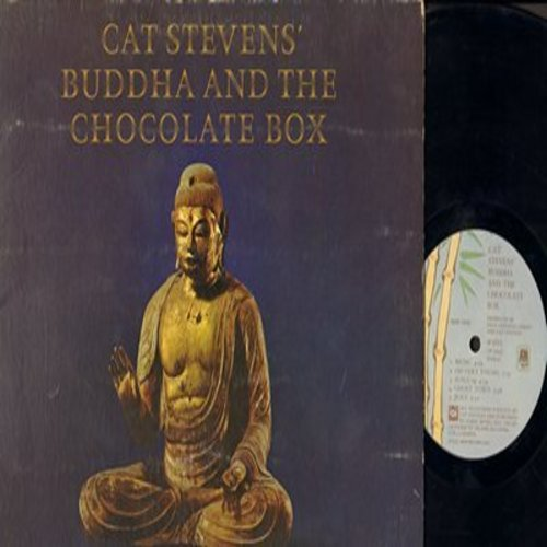 Stevens, Cat - Buddah And The Chocolate Box: Ghost Town, Jesus, King Of Trees, Bad Penny, Home In The Sky (vinyl STEREO LP record, gate-fold cover) - EX8/VG7 - LP Records