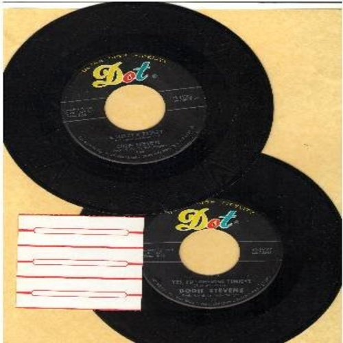 Stevens, Dodie - 2 for 1 Special: A Tisket A Tasket/Yes, I'm Lonesome Tonight (2 vintage first issue 45rpm records for the price of 1!) - VG7/ - 45 rpm Records