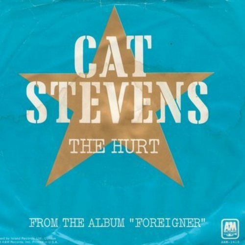 Stevens, Cat - The Hurt/Silent Sunlight (with picture sleeve) - NM9/VG7 - 45 rpm Records