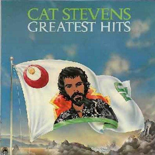 Stevens, Cat - Greatest Hits: Peace Train, Wild World, Morning Has Broken, Moonshadow, Father & Son (vinyl LP record) - EX8/VG7 - LP Records