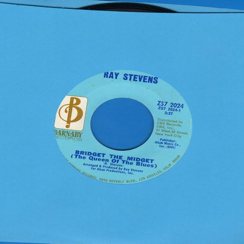 Stevens, Ray - Bridget The Midget (The Queen Of The Blues)/Night People  - EX8/ - 45 rpm Records