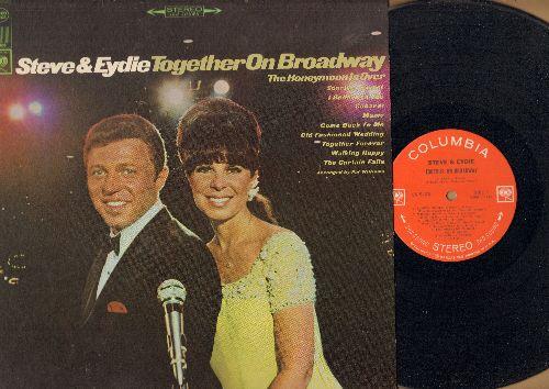 Lawrence, Steve & Eydie Gorme - Steve & Eydie Together On Broadway: Sunrise Sunset, Cabaret, Mame, Together Forever (vinyl STEREO LP record - EX8/NM9 - LP Records