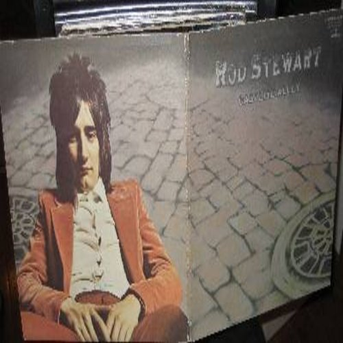Stewart, Rod - Gasoline Alley: You're My Girl, Cut Across Shorty, Lady Day, Only A Hobo, It's All Over Now (vinyl LP record, gate-fold cover, raised cardboard front cover first issue) - NM9/EX8 - LP Records