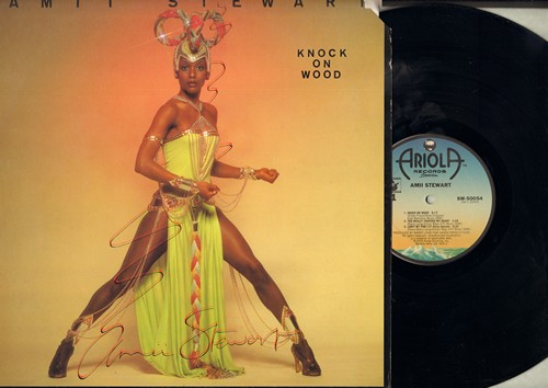 Stewart, Amii - Knock On Wood: Light My Fire/137 Disco Heaven, Bring It On Back To Me (vinyl STEREO LP record includes 6:13 Extended Disco Version of Title Song) - NM9/VG7 - LP Records