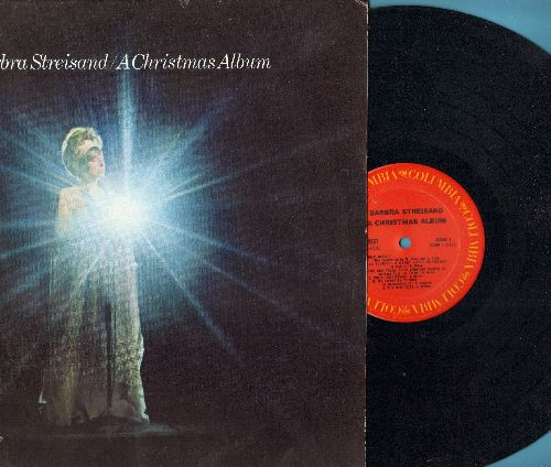 Streisand, Barbra - A Christmas Album: White Christmas, My Favorite Things, Have Yourself A Merry Little Christmas (vinyl STEREO LP record) - NM9/NM9 - LP Records