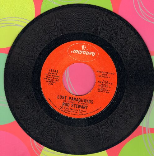 Stewart, Rod - Lost Paraguayos/Angel - NM9/ - 45 rpm Records