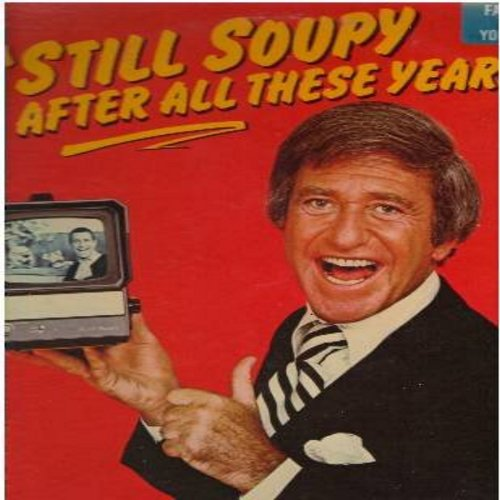 Sales, Soupy - Still Soupy After All These Years: My Ugly Sister-In-Law, Buddy Can You Spare An Aspirin, Gimme Some Skin, My father Wants His Dollar Back (vinyl LP record) - NM9/EX8 - LP Records