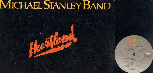 Stanley, Michael Band - Heartland: I'll Never Need Anyone More (Than I Need You Tonight), Don't Stop The Music, He Can't Love You, Working Again, All I Ever Wanted, Say Goodbye, Hearts On Fire (Vinyl LP Record) - EX8/EX8 - LP Records