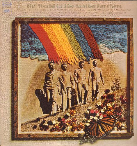 Statler Brothers - The World Of The Statler Brothers: Flowers On The Wall, King Of The Road, Shenandoah, Release Me (2 vinyl STEREO LP records, gate-fold cover) - NM9/EX8 - LP Records