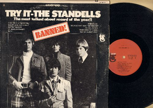 Standells - Banned!: Try It, Can't Help But Love You, Riot On Sunset Strip, St. James Infirmary, Ninety-Nine And A Half (vinyl STEREO LP record) - NM9/VG7 - LP Records