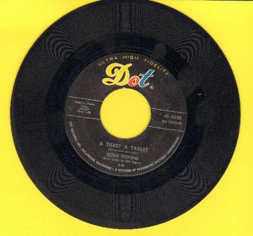 Stevens, Dodie - A Tisket A Tasket (I've Lost My Yellow Basket)/No (sol) - VG6/ - 45 rpm Records