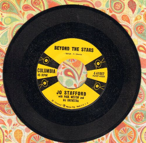 Stafford, Jo - Beyond The Stars/Echoes In The Night - NM9/ - 45 rpm Records