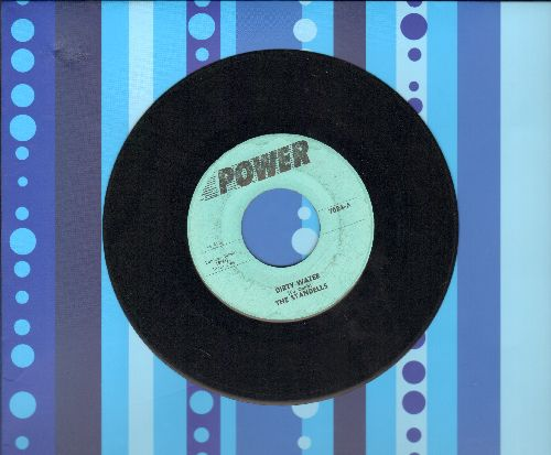 Standells - Dirty Water/Sometimes Good Guys Don't Wear White (erarly double-hit re-issue) - EX8/ - 45 rpm Records