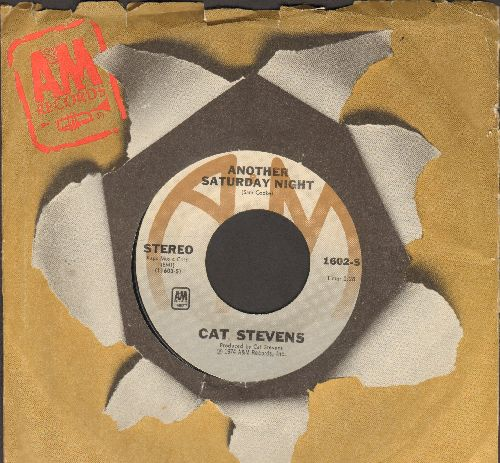 Stevens, Cat - Another Saturday Night/Home In The Sky  - EX8/ - 45 rpm Records