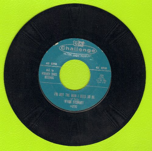Stewart, Wynn - I'm Not The Man I Used To Be/Slightly Used - EX8/ - 45 rpm Records