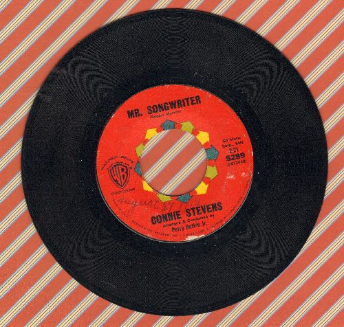 Stevens, Connie - Mr. Songwriter (Write Me A Song)/I Couldn't Say No (NICE condition, minor wol) - NM9/ - 45 rpm Records